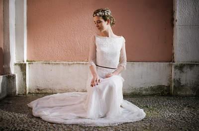 Vestidos de novia con encaje 2017. ¡Elige el tuyo!
