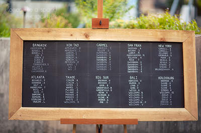 Delight your wedding guests with these sensational seating plans
