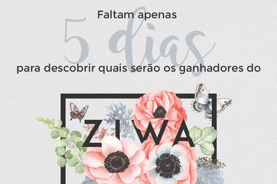 ZIWA 2017 já está terminando! Faltam apenas cinco dias. Você já votou?