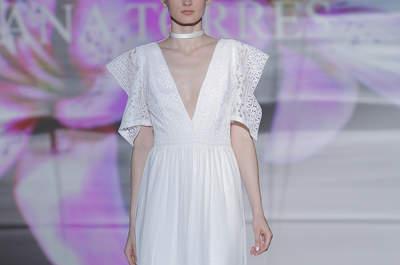 Vestidos de novia corte recto 2017. ¡Sorprende luciendo uno de sus diseños!