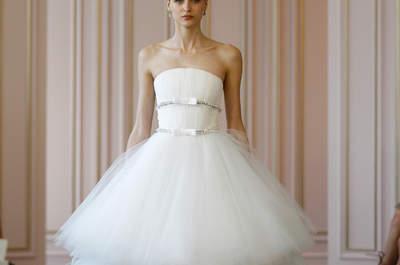 A melhor seleção dos vestidos de noiva da New York Bridal Week Primavera 2016