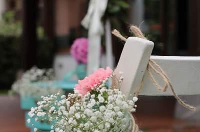 Decoración de sillas de boda 2017. ¡Diferénciate del resto!