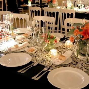 Los manteles de tu matrimonio. ¡Conoce estas ideas y viste tus mesas con lo más original!
