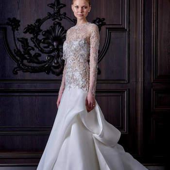 Vestidos de novia con pedrería 2016: brillarás más que nunca