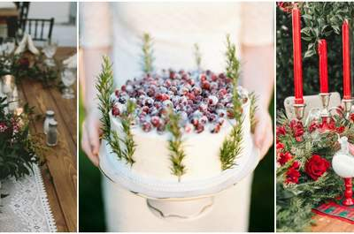 Christmas-Inspired Wedding Decor that is Oh-So-Cozy!