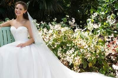 Naturalność i młodzieńczy wygląd w sukni ślubnej od Sweetheart 2016. Wybierz swoją!
