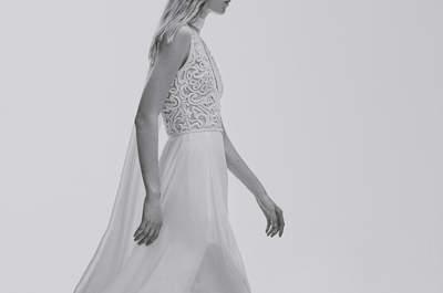 Optez pour une robe de mariée avec transparences 2017 pour jouer sur l'effet tatouage!