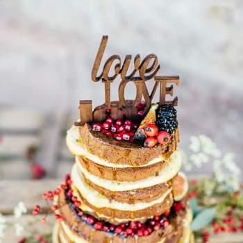 Die Naked Cakes-Hochzeitstorte: dieser köstliche Trend ist 2016 in aller Munde!