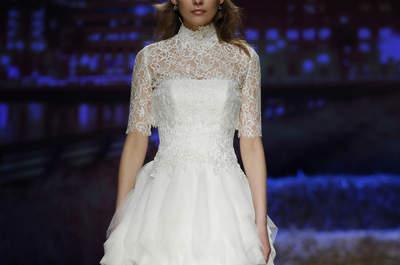 Abiti da sposa con collo alto 2016: ricercati, chic e principeschi