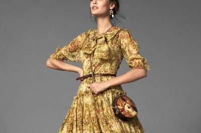 Vestidos y accesorios Dolce Gabbana 2013