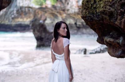 Vestidos de noiva com decote nas costas: efeito 2 em 1!