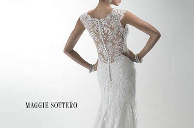 Descubre los modelos clásicos de Maggie Sottero: vestidos de novia espectaculares