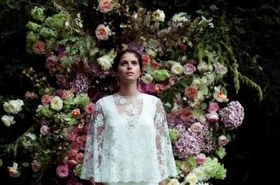 Robes de mariée 2015 Elise Hameau : les années 70 et le romantisme à l'honneur