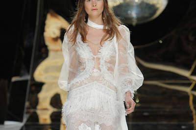 Vestidos de novia originales 2017: Las tendencias más arriesgadas ¡por fin llegan!