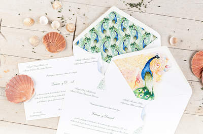 Convites de casamento para 2017: o detalhe faz a diferença!