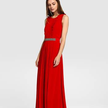 20 długich czerwonych sukienek 2017. Wybierz swóją ulubioną!
