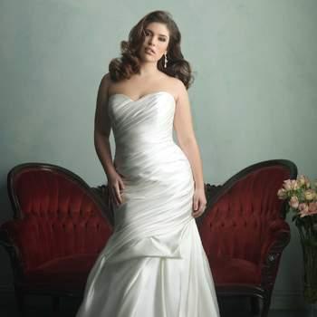 Abiti da sposa per donne curvy 2016: scopri come sentirti bellissima nel tuo grande giorno!