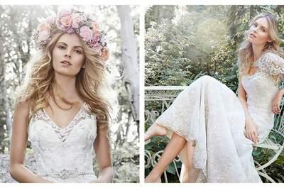 Descubra os vestidos de noiva Maggie Sottero primavera 2015: Uma coleção mágica!