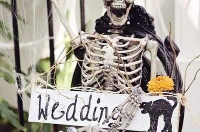 Idées déco pour un Hallowedding : un mariage aux couleurs d'Halloween…