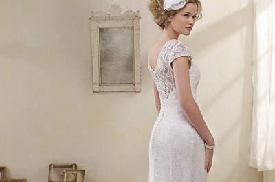 Collezione Modern Vintage Wedding di Alfred Angelo per una sposa dall'eleganza eterea