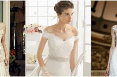 Vestidos de noiva com renda 2016: renda-se!