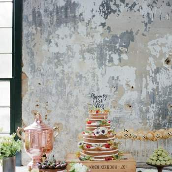 Catering Highlight: Naked Cakes