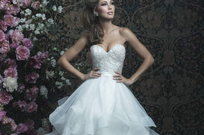 Allure Bridals 2017 Collection: Wedding Dresses for the Most Feminine of Brides