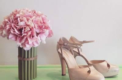 Luce tus pies en uno de estos bellos zapatos en tonos neutros. ¡Estilo para todos los gustos!