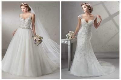 Vestidos de noiva deslumbrantes de Maggie Sottero &Midgley Classic Styles 2015