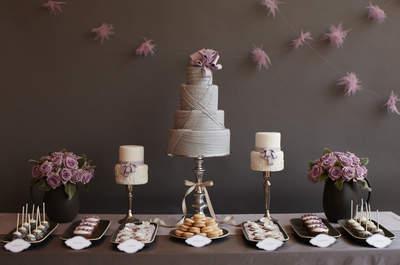 17 mesas de postres irresistibles: Una deliciosa apuesta para tu banquete de bodas