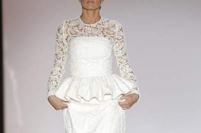 L'élégance jusque dans les moindres détails de la nouvelle collection de Juana Martín à la Barcelona Bridal Week