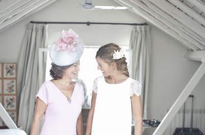 Día de la madre: un especial con el vestido de fiesta ideal para la madre de la novia