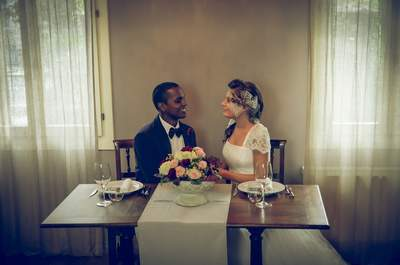 Michele ed Amelia: un caldo matrimonio invernale dal tocco retrò