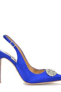 Zapatos de color para novias 2016