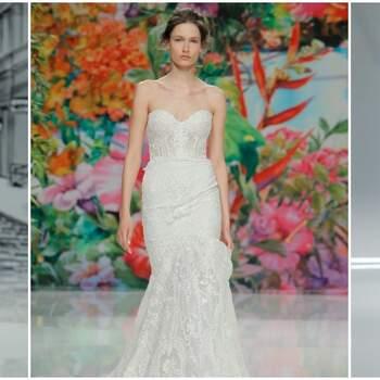 Vestidos de novia escote corazón 2017: 30 diseños que te dejarán ¡boquiabierta!