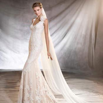 Vestidos de novia con encaje 2017: Luce sutil, delicada y elegante
