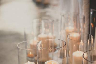 Candles: The Best Light Source to Illuminate Your Beautiful Big Day