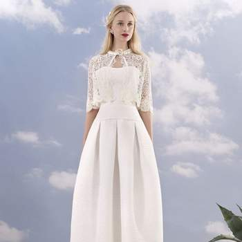 Vous êtes mince ? Voici 40 robes de mariée qui vous iront à merveille en 2016!