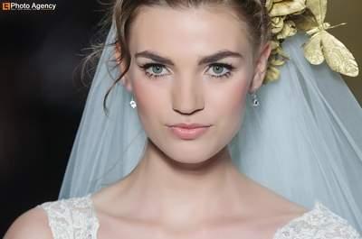 Penteados incríveis para noivas com acessórios Pronovias 2014