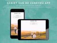 Download nu de Zankyou App!