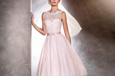 Robes de mariée courtes 2017: 45 créations qui vont vous faire craquer!