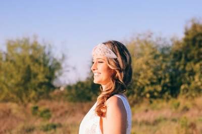 Tendências 2016: aposte numa destas headpieces para noiva e consiga um look original!