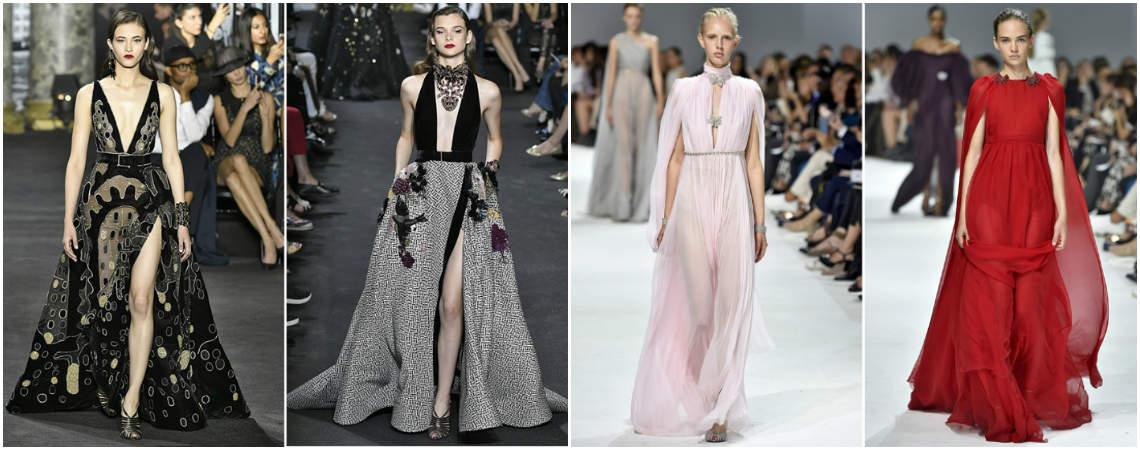 5 tendências da Semana de Moda de Alta Costura de Paris 2017: madrinhas e convidadas DIVINAS!