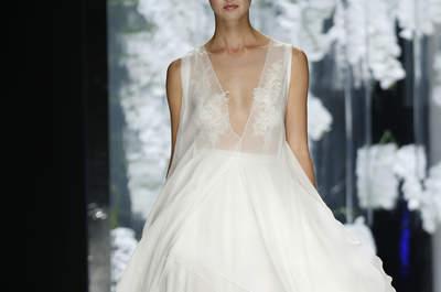 La «slip dress» : la nouvelle tendance pour les robes de mariée en 2016!