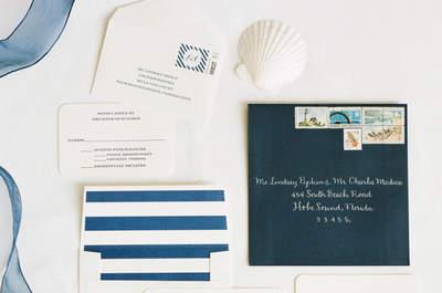 40 idee per decorare il tuo matrimonio 2016 in stile marino: tuffati tra le nostre proposte!