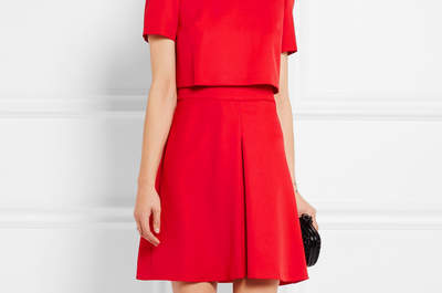 Vestidos de fiesta rojos cortos 2017: Un color llamativo y seductor