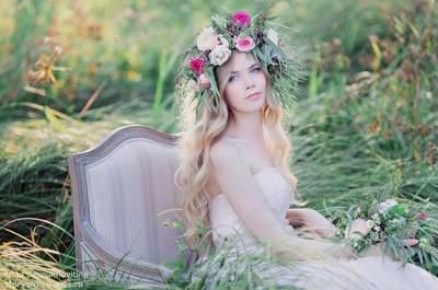 Свадебные прически с распущенными волосами 2017. Ставьте ставку на естественность!