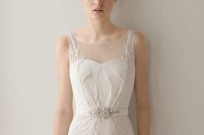 Escotes de novia de Rosa Clará 2015: feminidad con clase