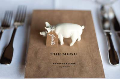 Wedding Decor Highlights: Animal Figurines