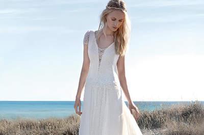 Robes de mariée à dentelle 2017 : une mariée glamour et sensuelle!